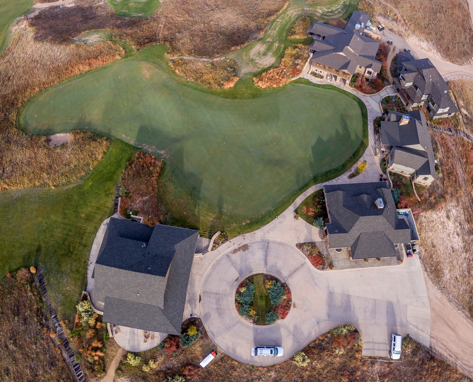 Ballyneal commons aerial shot